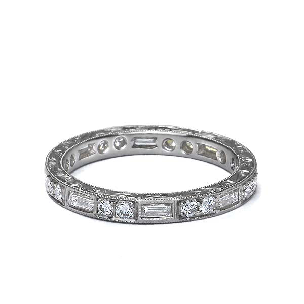 Platinum Diamond Eternity Band #L2590HE PLAT