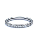 Platinum Wedding Band #L2630WB PT - Leigh Jay & Co.