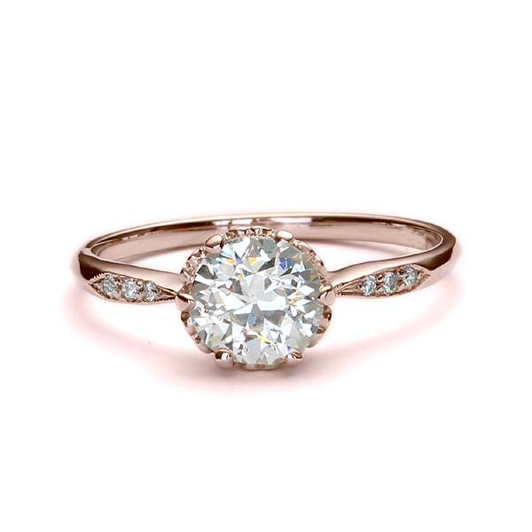 Replica Edwardian engagement ring #L2636