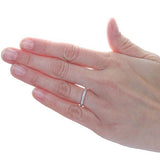 14k Diamond Eternity Band #L2641WBR18 - Leigh Jay & Co.