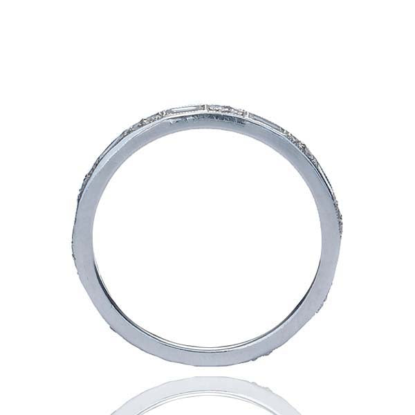 14k Diamond Eternity Band #L2641WB 14K - Leigh Jay & Co.