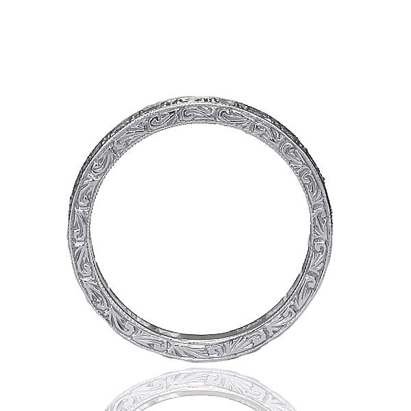 14k Diamond Eternity Band #L3001WB 14K - Leigh Jay & Co.