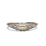 18k Wedding Band #L3021WB 18K - Leigh Jay & Co.