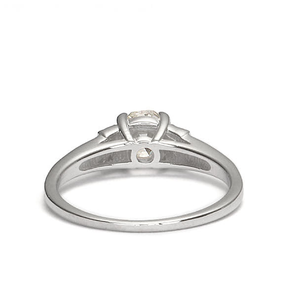 Replica art deco engagement ring #L3028 - Leigh Jay & Co.