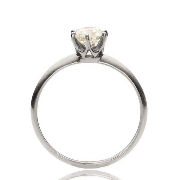 Replica Edwardian engagement ring #L3055 - Leigh Jay & Co.