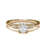Replica art deco engagement ring #L3063 - Leigh Jay & Co.