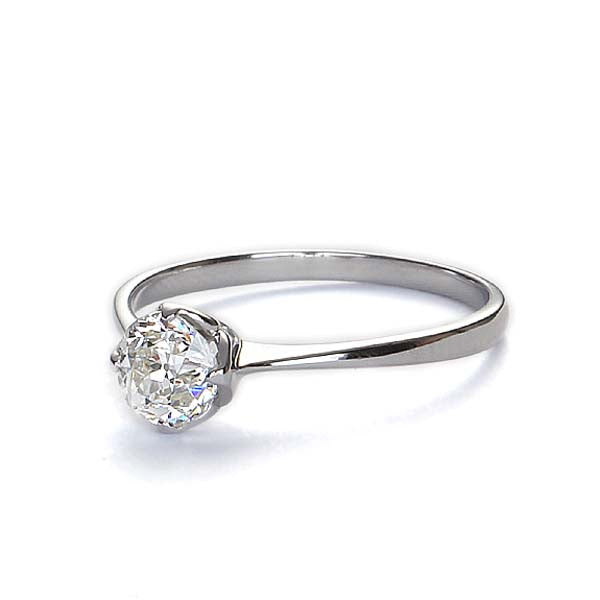 Replica Edwardian engagement ring #L3112 - Leigh Jay & Co.