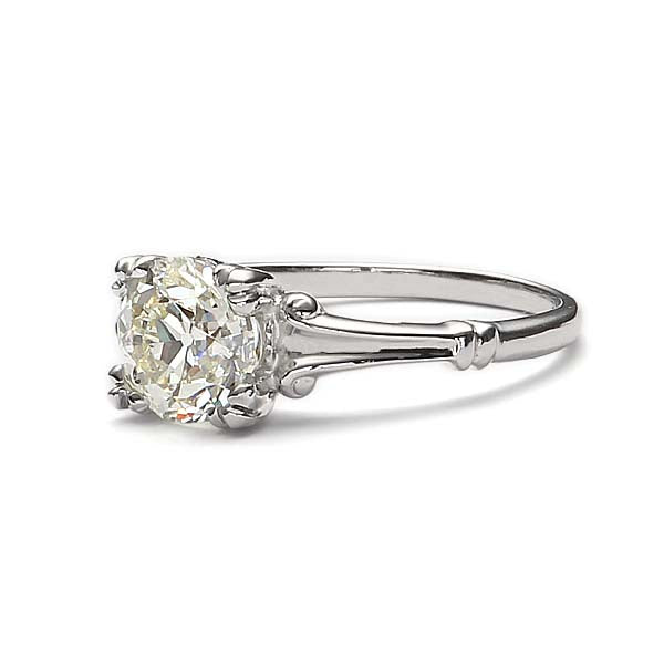 Replica art deco engagement ring #L3139 - Leigh Jay & Co.