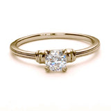 Replica late Art Deco engagement ring #L3149 - Leigh Jay & Co.