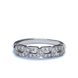 14k Diamond Wedding Band #L3157WB 14K - Leigh Jay & Co.