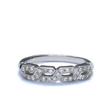 Replica 1930s Diamond Wedding Band #L3157WBR18 - Leigh Jay & Co.