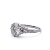 Diamond engagement ring #L3192-1 - Leigh Jay & Co.