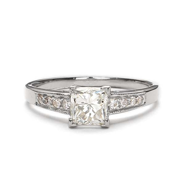 Replica art deco engagement ring #L3207 - Leigh Jay & Co.