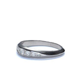 Platinum Wedding Band #L3208 PLAT - Leigh Jay & Co.