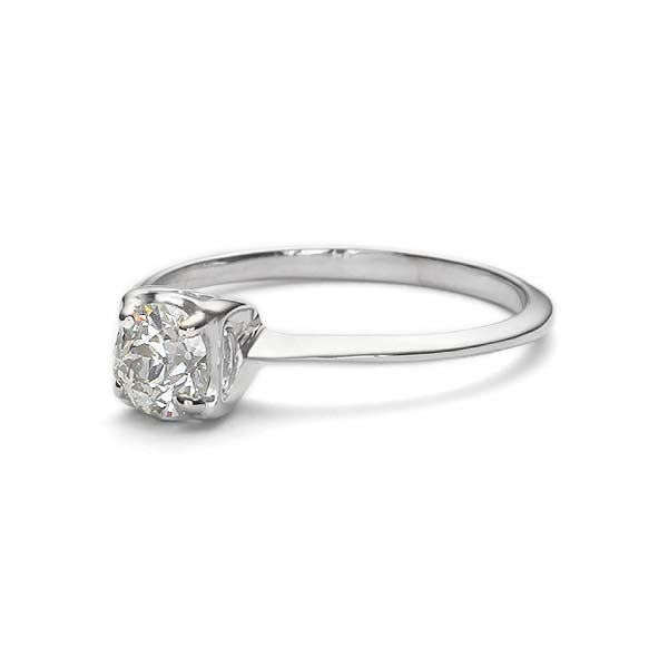 Replica 1940s engagement ring #L3222 - Leigh Jay & Co.