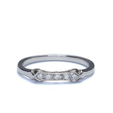 14k Diamond Wedding Band #L3254WBW14-1 - Leigh Jay & Co.