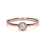 Replica Victorian engagement ring #L3261 - Leigh Jay & Co.
