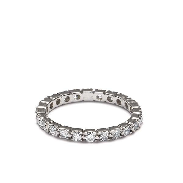 14k Diamond Eternity Band #L3287WB 14K
