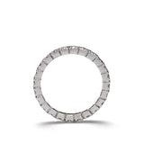 14k Diamond Eternity Band #L3287WB 14K - Leigh Jay & Co.