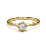 Replica Edwardian engagement ring #L3312 - Leigh Jay & Co.