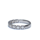 Diamond Wedding Band #L3341WB-14K - Leigh Jay & Co.