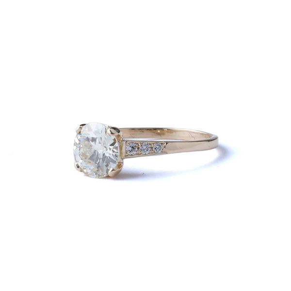 Replica Early Art Deco Engagement Ring #3400-8