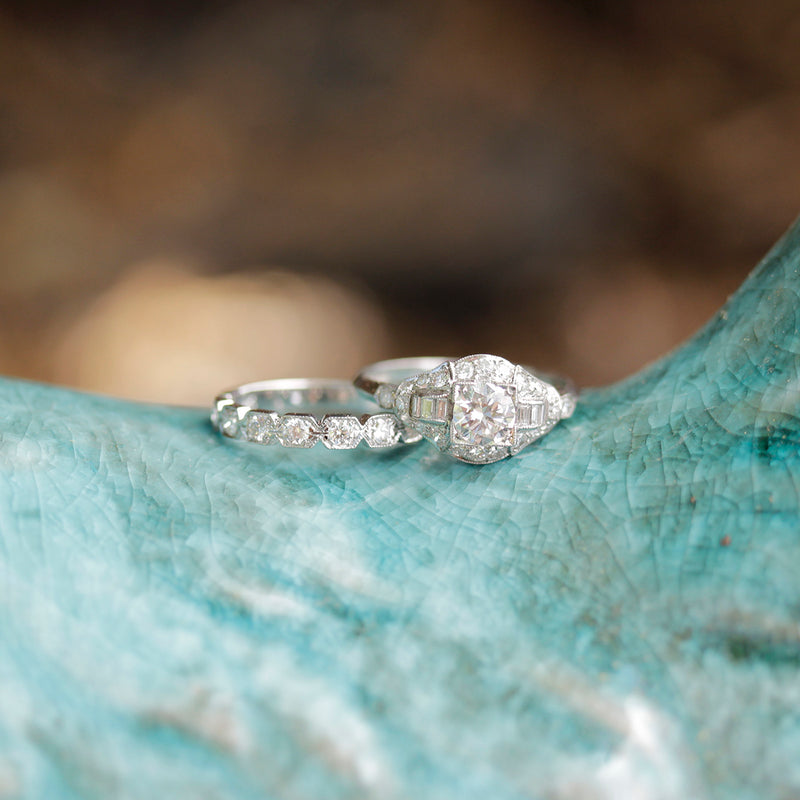 Circa 1930s Engagement Ring #VR181010-2 - Leigh Jay & Co.
