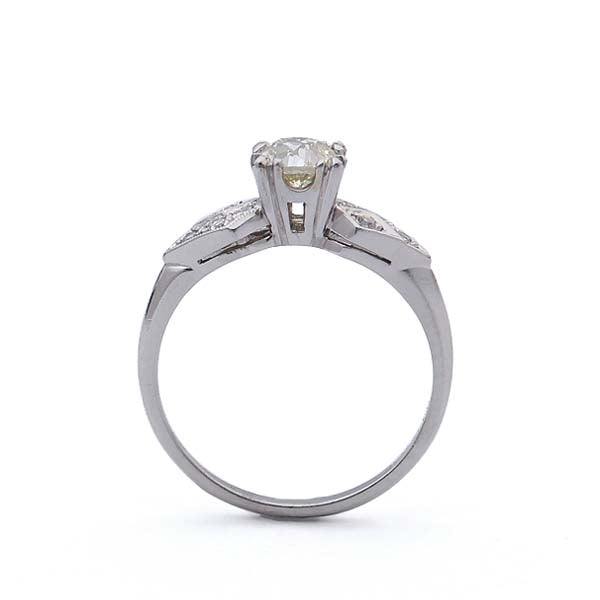 Vintage Engagement Ring #R118-16 - Leigh Jay & Co.