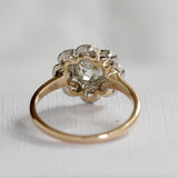 Beautiful Edwardian Halo Ring #VR200622-1 - Leigh Jay & Co.