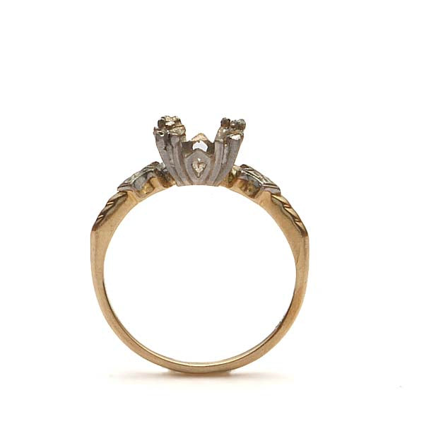Circa 1940s Engagement ring. #R180618-11 - Leigh Jay & Co.