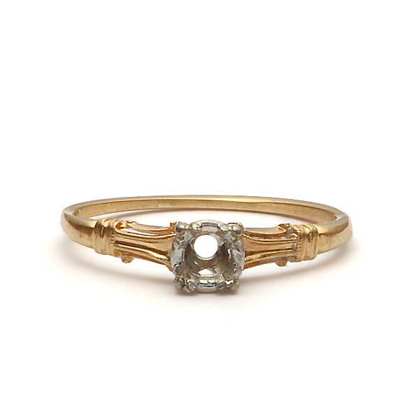 Circa 1930s Engagement ring #R180618-12 - Leigh Jay & Co.