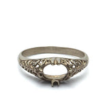 14k yellow gold filligree #R180706-1 - Leigh Jay & Co.
