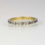 Vintage Wedding Band #R195-08 - Leigh Jay & Co.