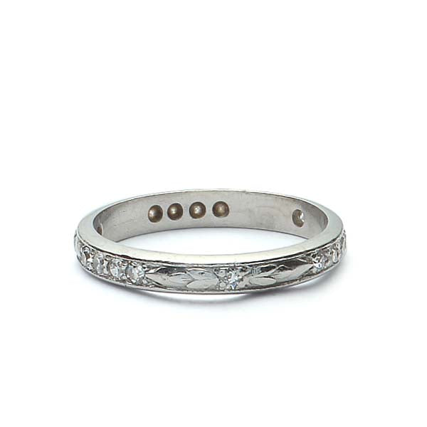 Vintage Wedding Band #R198-02 - Leigh Jay & Co.