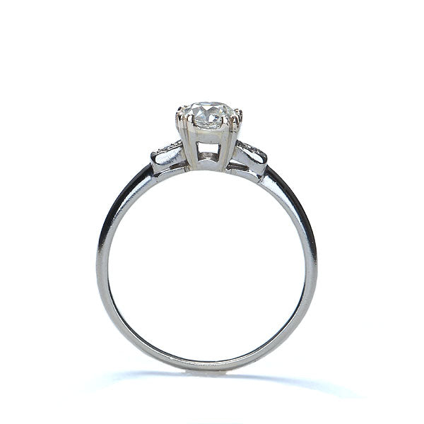 Vintage Engagement Ring #R217 - Leigh Jay & Co.