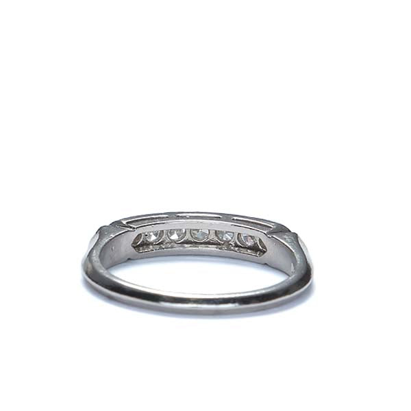 Vintage Wedding Band #R302-05 - Leigh Jay & Co.