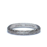 Vintage Wedding Band By Bristol Jewelers. #R323-31 - Leigh Jay & Co.