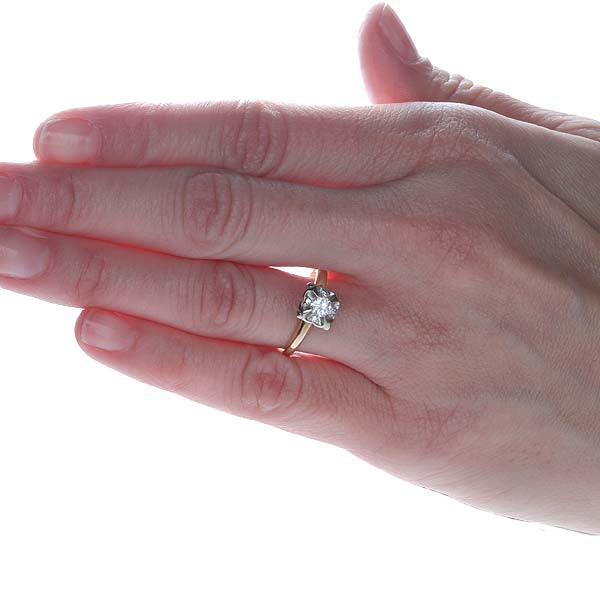 Vintage Engagement Ring #R332-18 - Leigh Jay & Co.