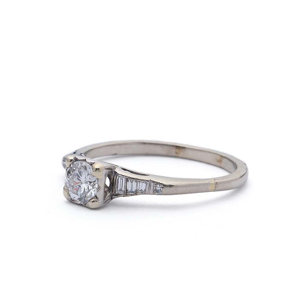 Vintage Engagement Ring #R338-13 - Leigh Jay & Co.