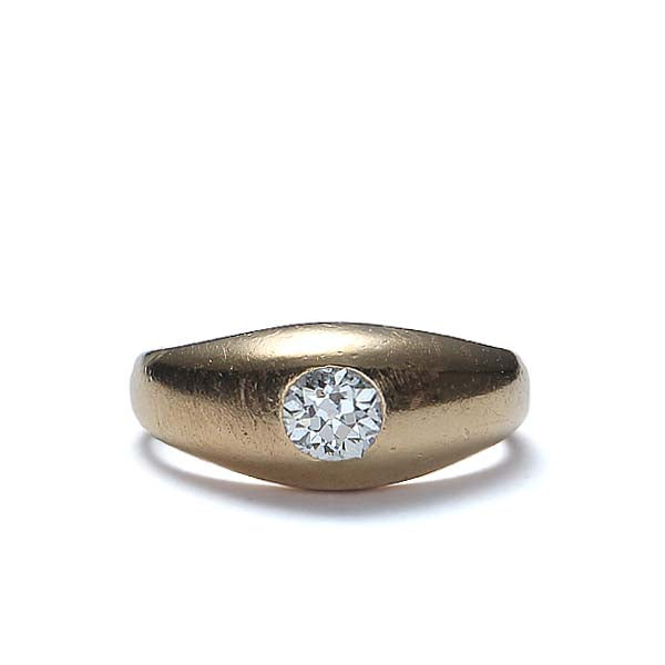 Vintage Engagement Ring #R359-08 - Leigh Jay & Co.