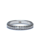 Vintage Wedding Band #R366-02 - Leigh Jay & Co.