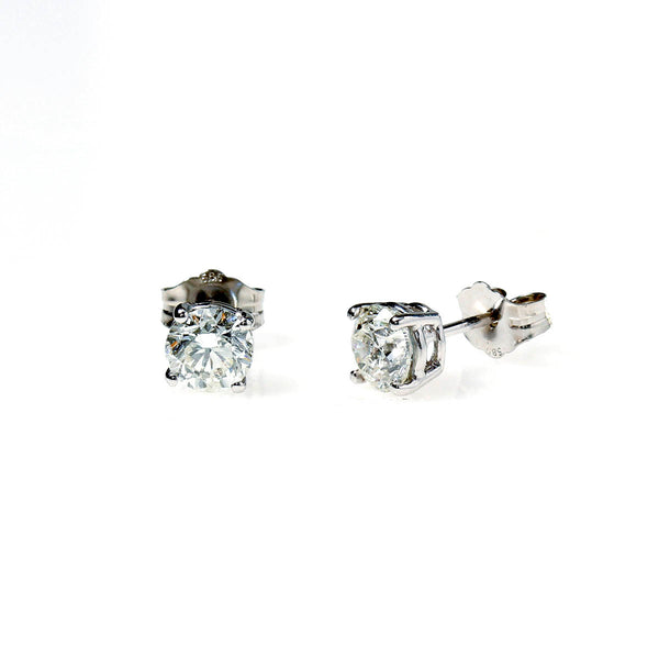 Diamond Stud Earrings 1 carat total weight