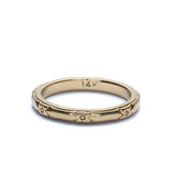 Art Deco Wedding Band #VB170829-2 - Leigh Jay & Co.