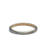 Platinum over Yellow Gold Vintage Band #VB180131-7 - Leigh Jay & Co.
