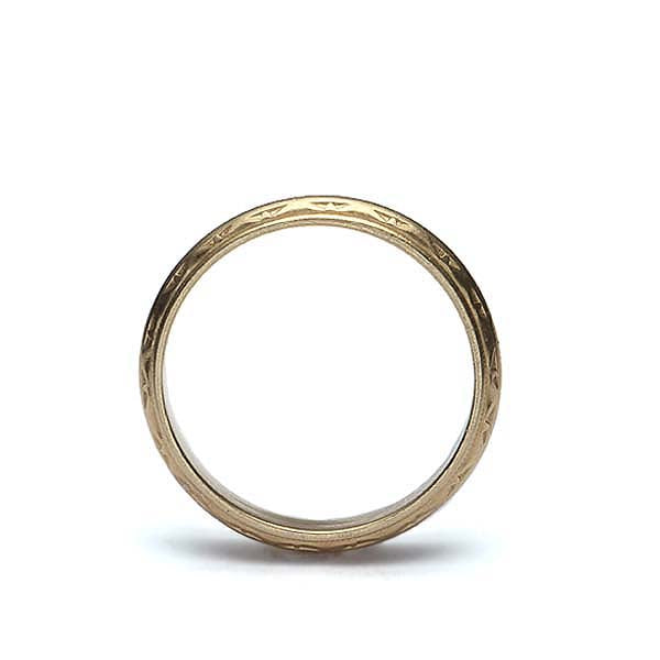 Vintage Mens Wedding Band #VB180409-1 - Leigh Jay & Co.