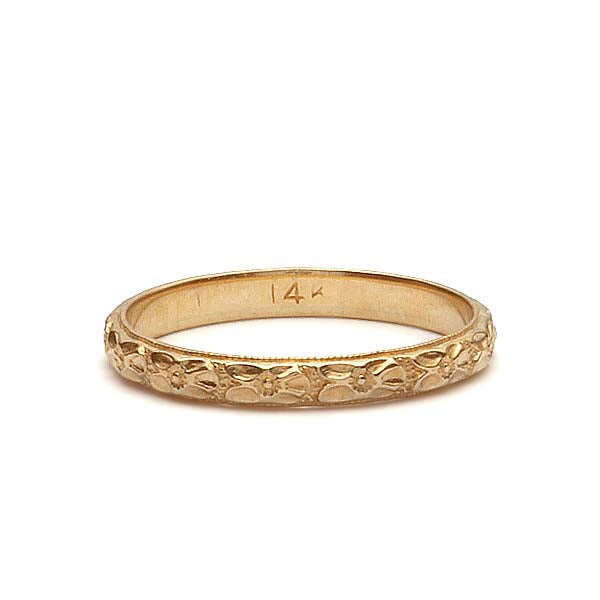Art Deco Wedding Band. #VB180618-2 - Leigh Jay & Co.