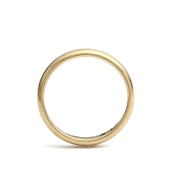 18k Lambert Bros Wedding Band #VB181107-6 - Leigh Jay & Co.