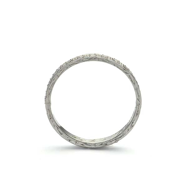 Vintage Eternity Band #VB181119-6 - Leigh Jay & Co.