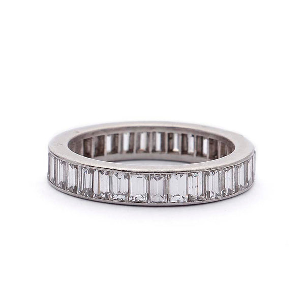Channel Set VC&A Baguette Diamond Band #VB190710-13 - Leigh Jay & Co.