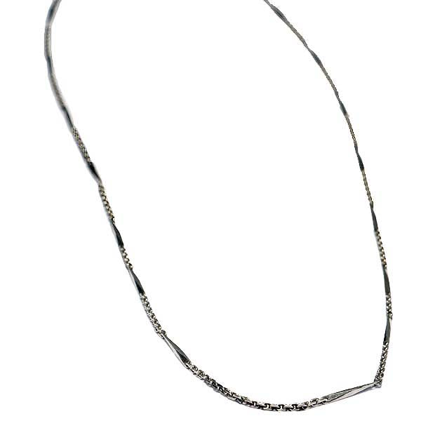 vintage platinum chain 16 inches #VC171130-1 - Leigh Jay & Co.